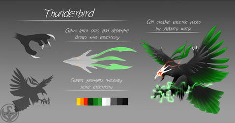 RWBY: Grimm Classification: Thunderbird by NickShepard117