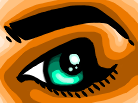 Another freakin eye by Howmanygoats
