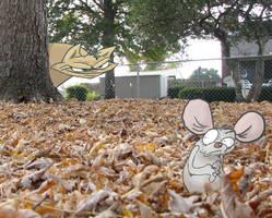 Cat vs. Mouse by biggins23