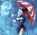 Water Magic in a Nostalgic Day - Juvia Lockser by ladybakura92