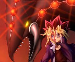 Game Over - Yugi and Gandora by ladybakura92