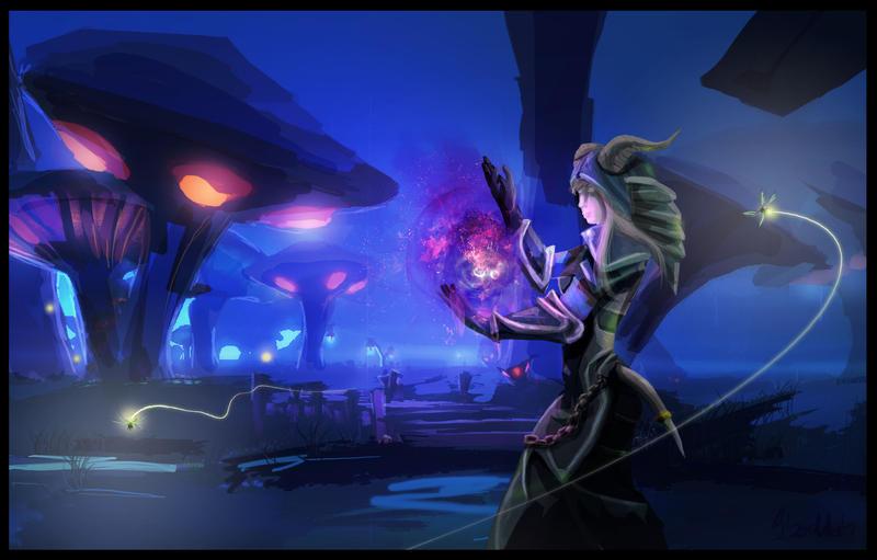 WOW - Lyis - Shadow priest by Sboddah on DeviantArt