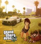 MoneyHoney GTA V style by Sboddah