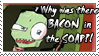Zim and Bacon Stamp by Zim-Shady