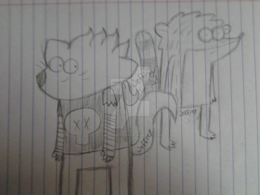 Regular Doodles by CartoonDude95