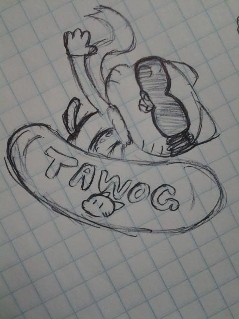 Old TAWoG sketch by CartoonDude95