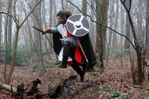 Warriors in the Woods 5 by Dewfooter
