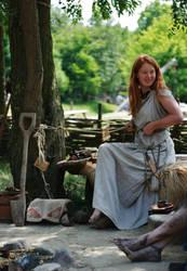 Prehistoric princess by Dewfooter