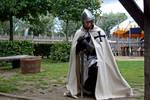 Teutonic knight praying 2