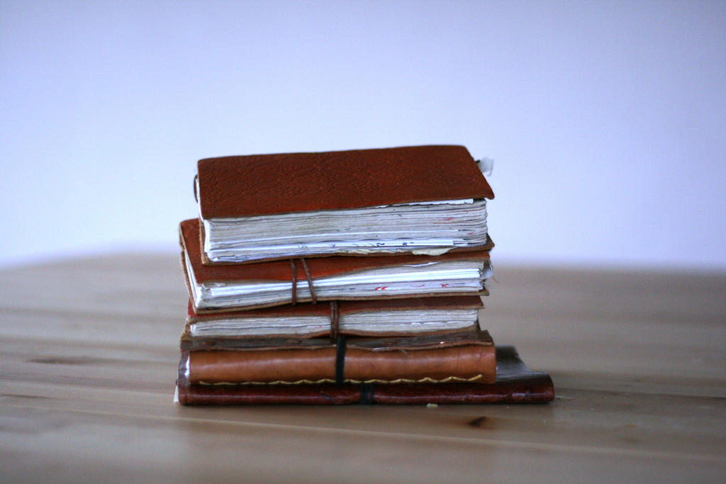 Stack o' books 2 by Dewfooter