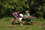 11th century men training 2