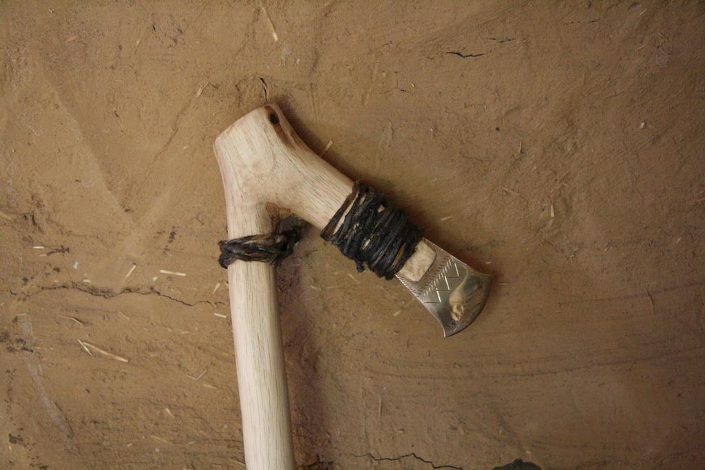 Irish bronze age axe b by Dewfooter