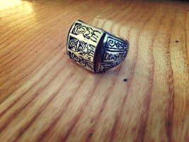 Medieval iconographic ring