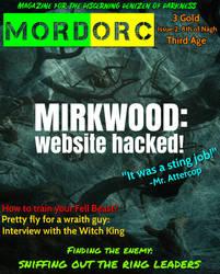 MordORC magazine mockup