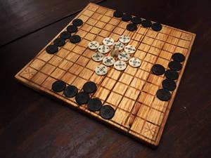 Hnefatafl game