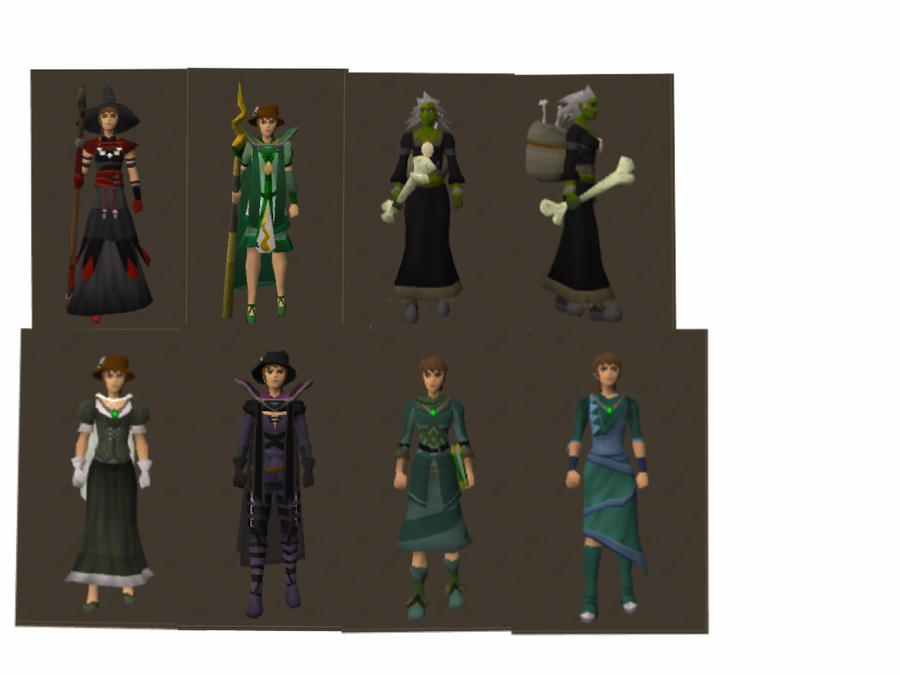Runescape shoes color