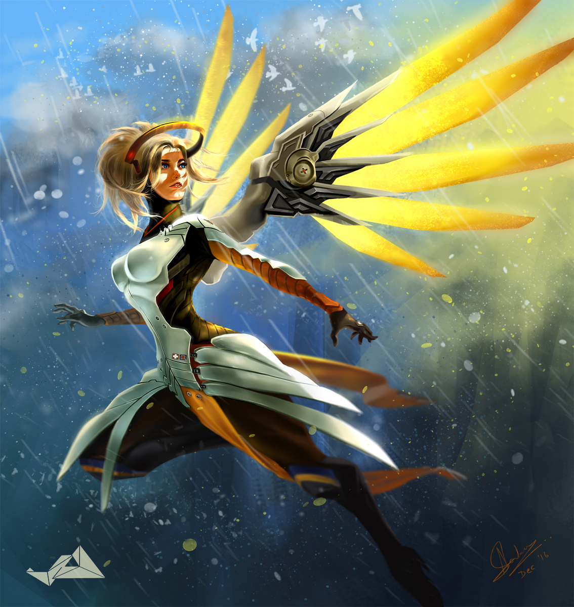 Mercy - FanArt by Jit-Art