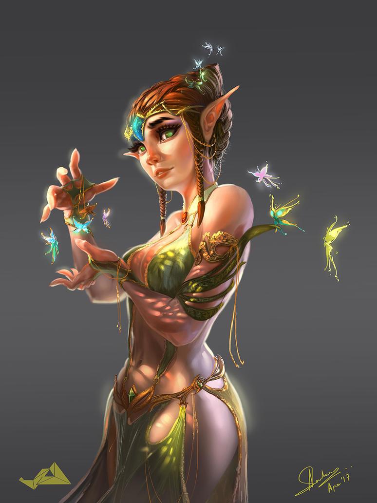 Elf by Jit-Art