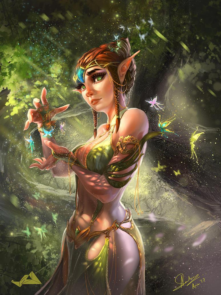 Fantasy Elf by Jit-Art