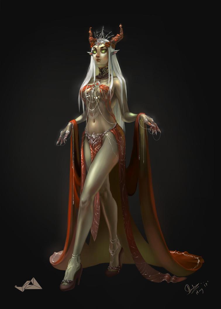 Elf Witch by Jit-Art