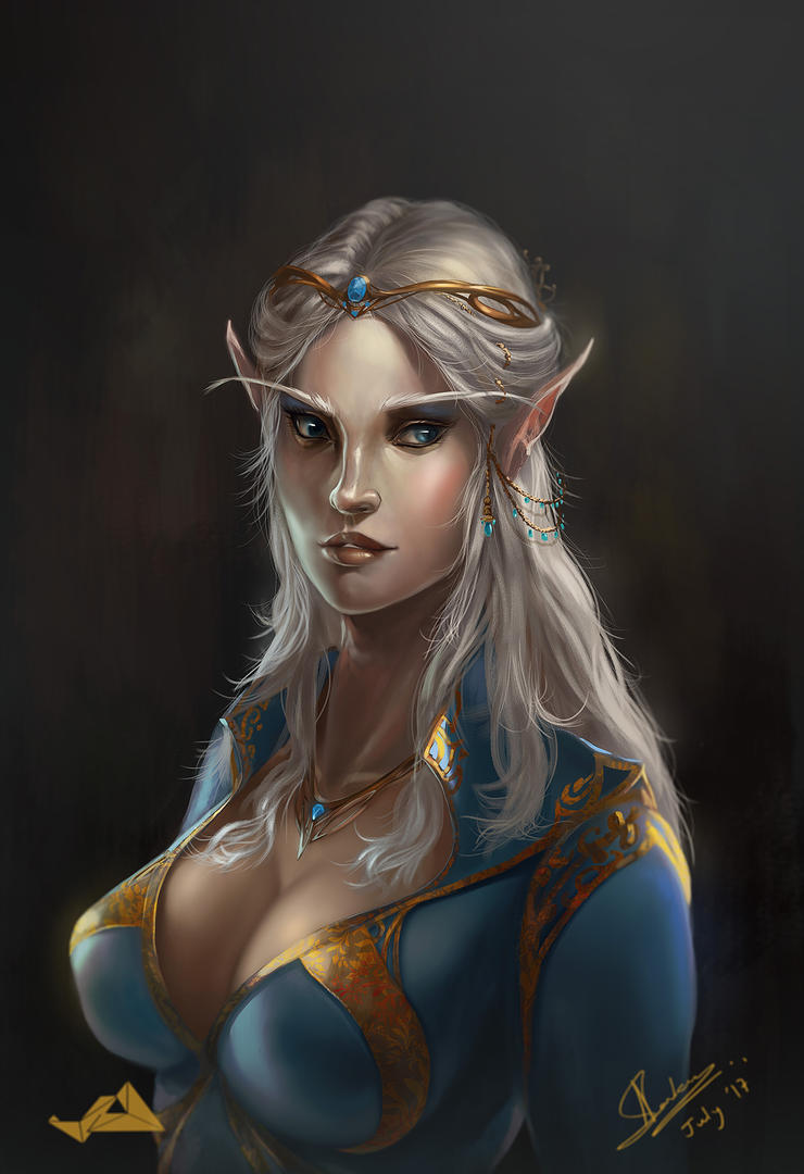 High Elf by Jit-Art