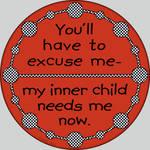 My Inner Child Button