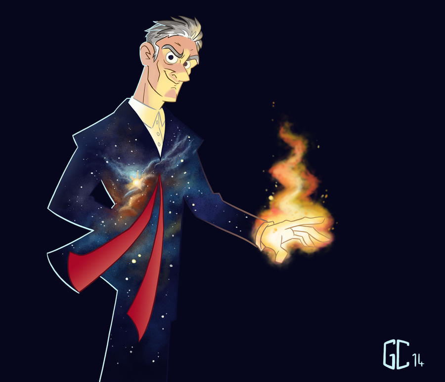 In The Darkness, Find Light - Doctor Who by GCrosbie