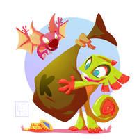 Yooka-Laylee! by GCrosbie