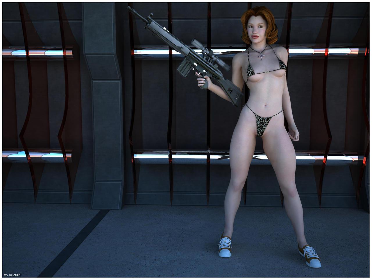 Bikini And Gun 65