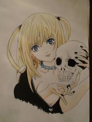 MisaAmaneSkull by Rena-chanRyuugu