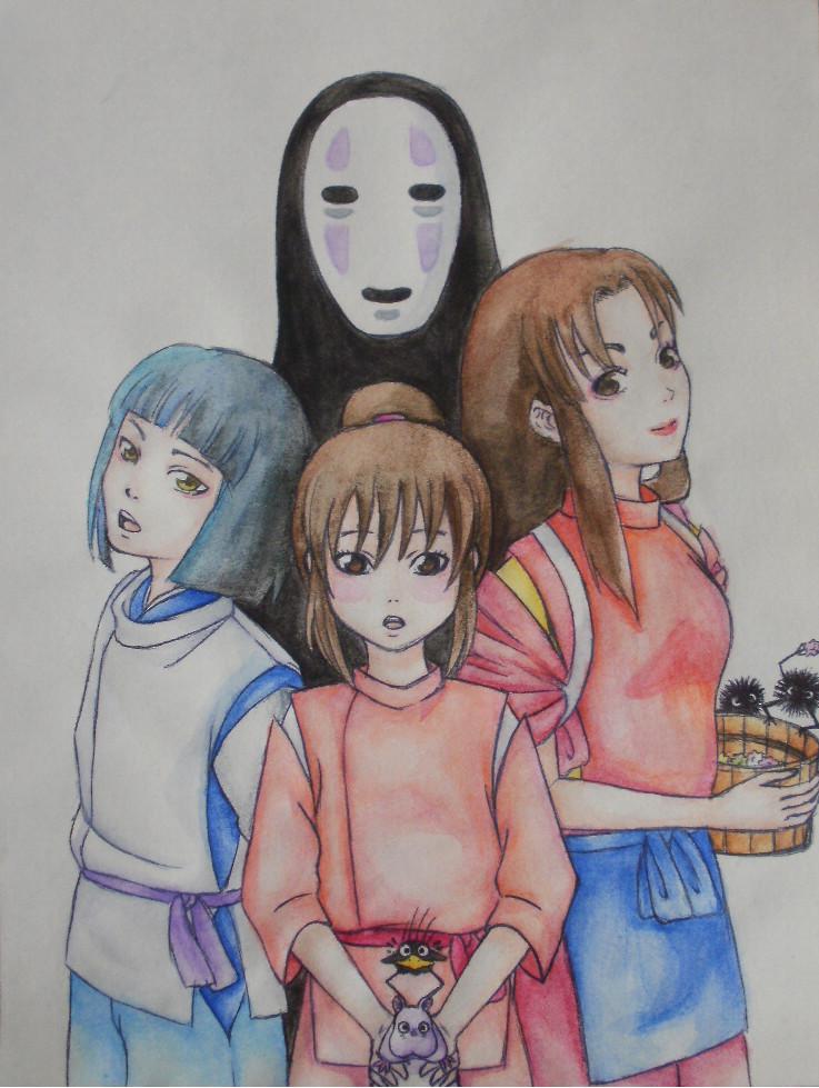 SpiritedAway by Rena-chanRyuugu