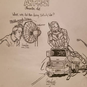 Where Was Ant-Man During Infinity War? by CaptainSguiggle