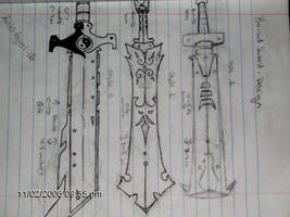 swords by deveilishangel
