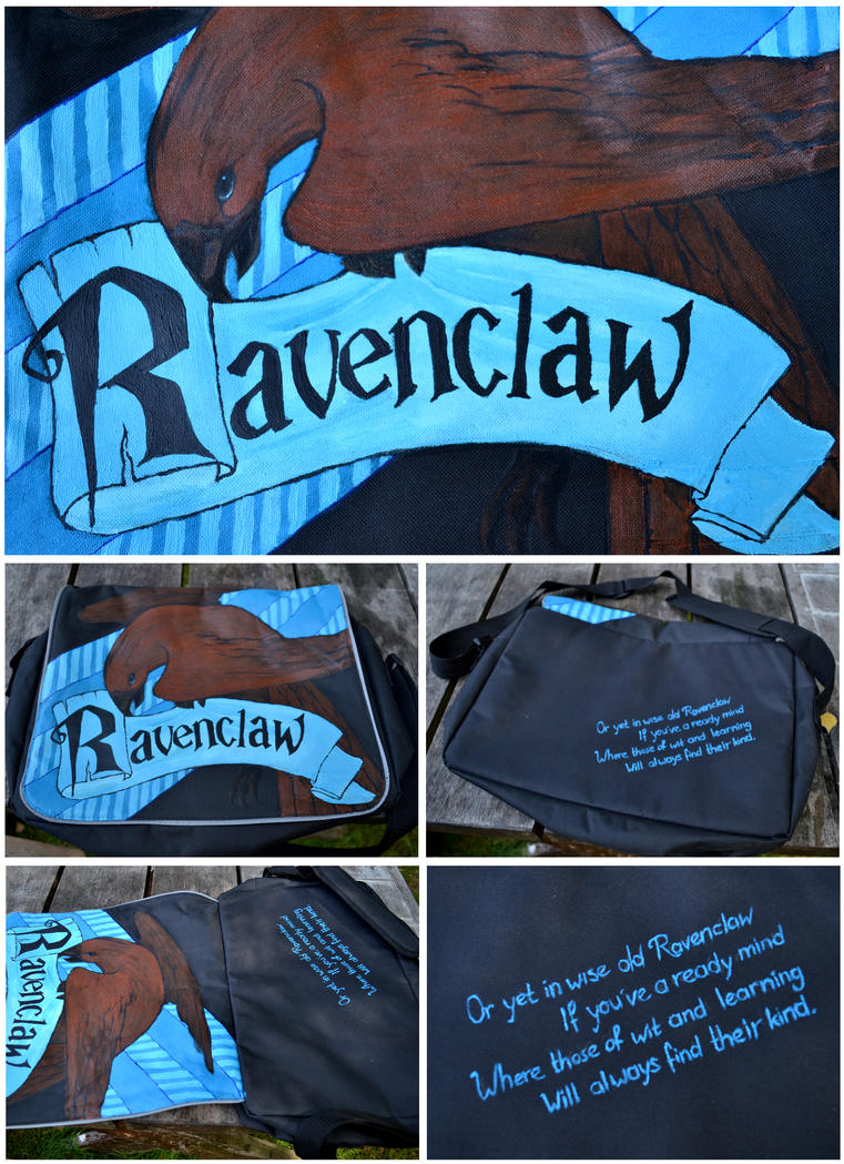 Ravenclaw Bag by The-Other-Half-Of-Me