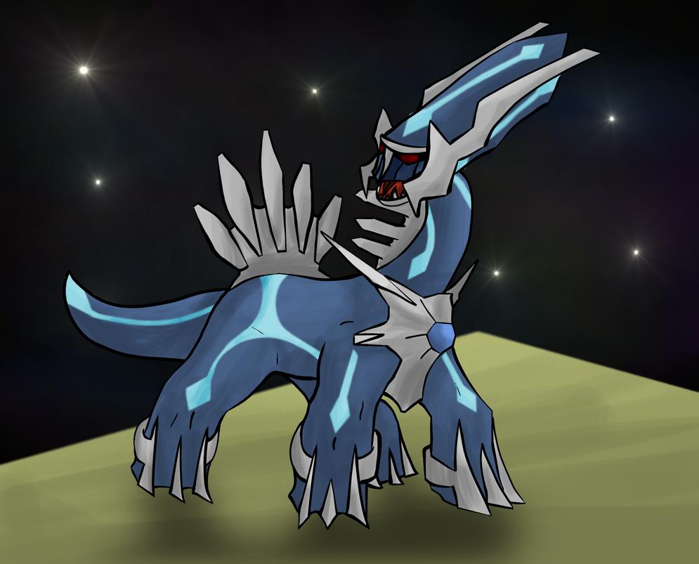 Pokemon - Dialga by lotsofmudkips