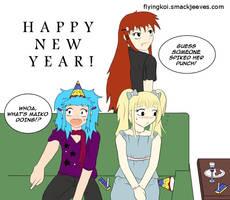 Flying Koi New Year 2010 by flynfreako