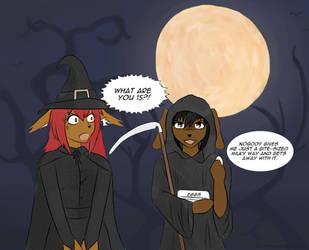 Halloween Commish by flynfreako