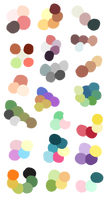 Random Color Palettes 8 by Sebbins