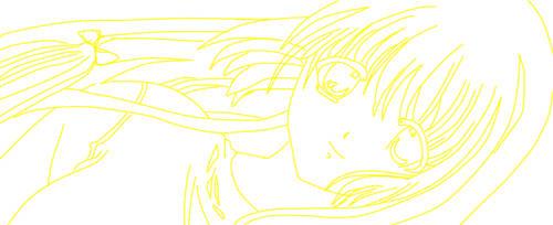 Anime Girl :) - My Drawing