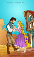 Tangled CP: Kingdom Dance by FaerieCarousel