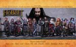 The Hobbit: Dwarven Wallpaper
