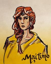 Maedhros by FaerieCarousel
