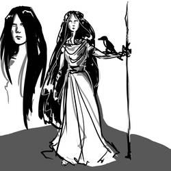 Faery Queen Concept1 by FaerieCarousel