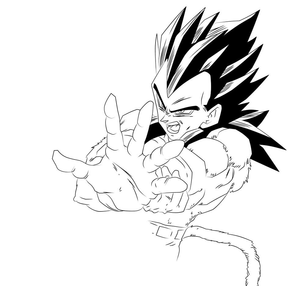 Dragon Ball z Vegeta Super Saiyan 4 Vegeta Super Saiyan 4