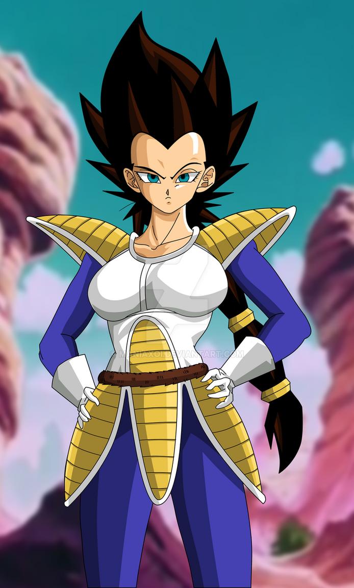 Resultado de imagen para goku vegeta female