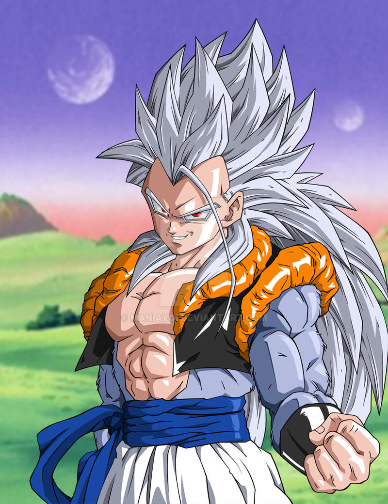 Gogeta ssj5 by maniaxoi on deviantart - Goku vs vegeta super saiyan 5 ...