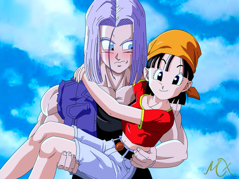 Dragonball gt pan romance sex trunks
