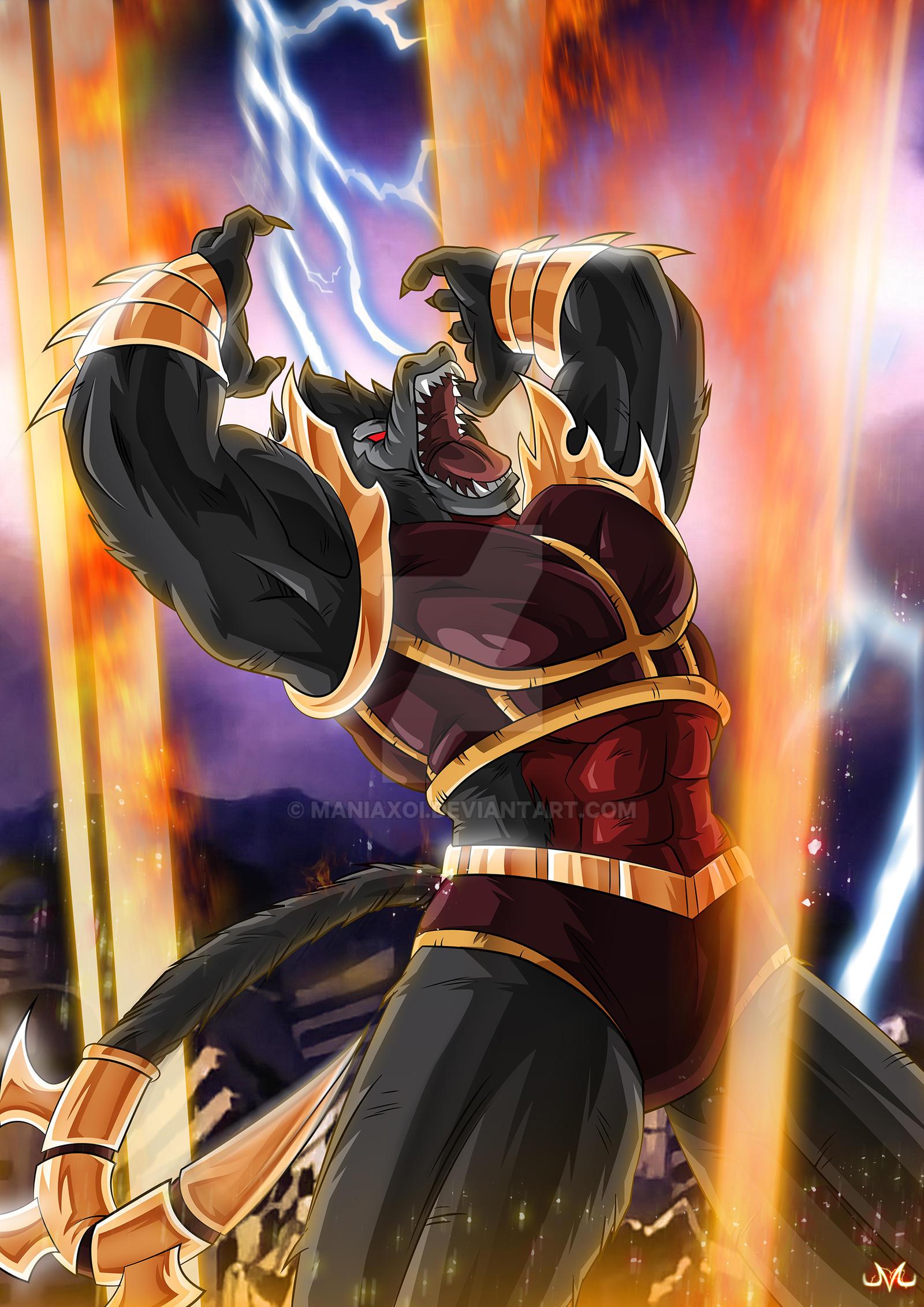 Goku vs broly fan animation - 4 8