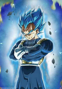 Vegeta SSBlue Full Power