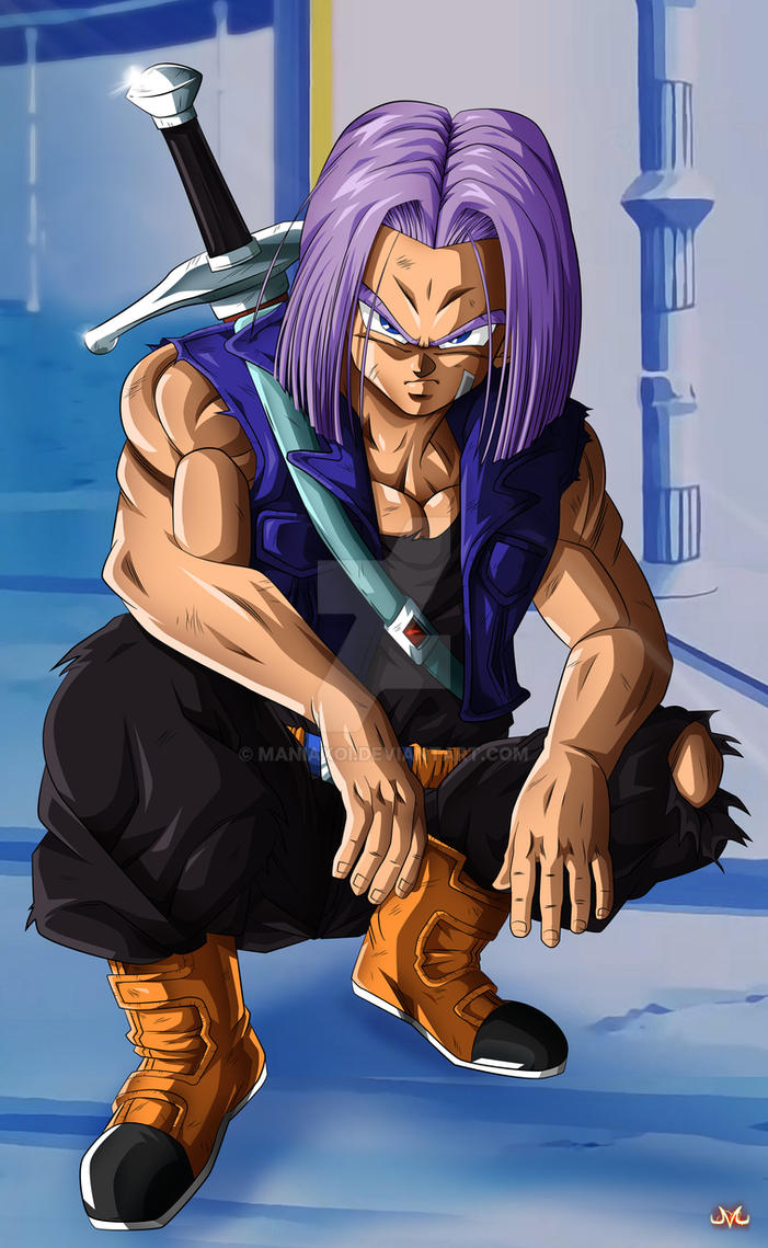mirai trunks by maniaxoi on deviantart